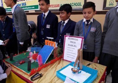peak Montessori high school science fair