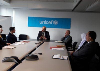 UNICEF Geneva tour Switzerland peak Montessori high school